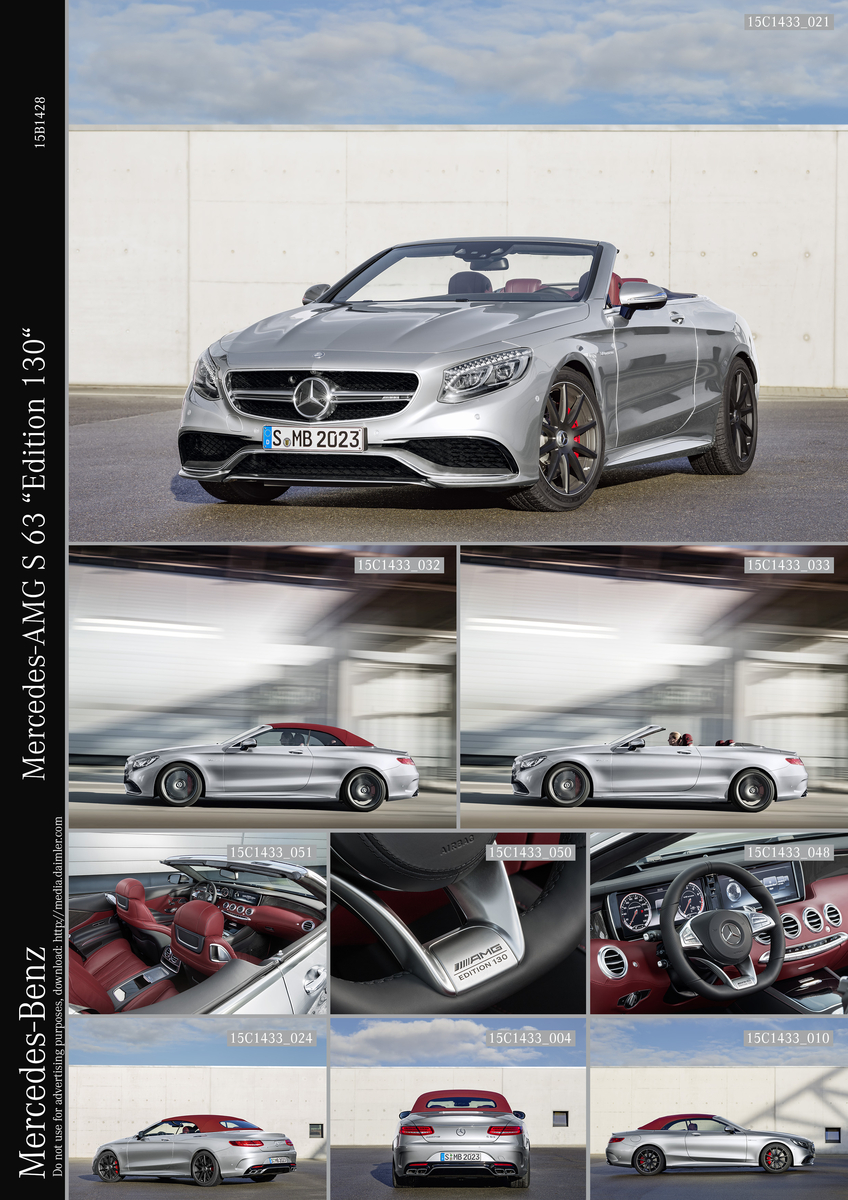 The Mercedes-AMG S63 4MATIC Cabriolet \