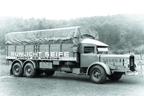 The Trucks Of Daimler Benz Part Mbca