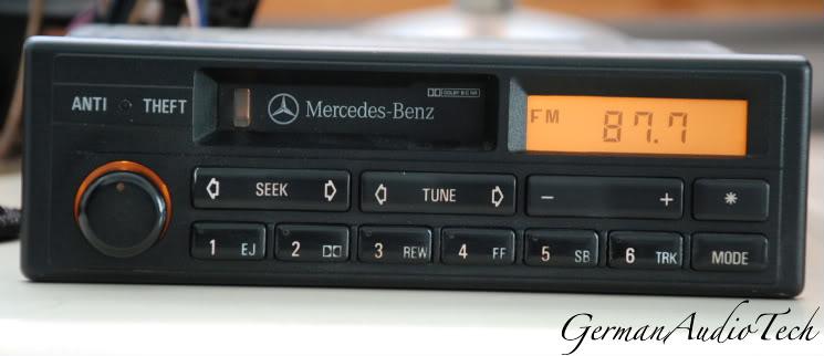 Need Security Code For Cm2191 190e Radio Mercedes Benz
