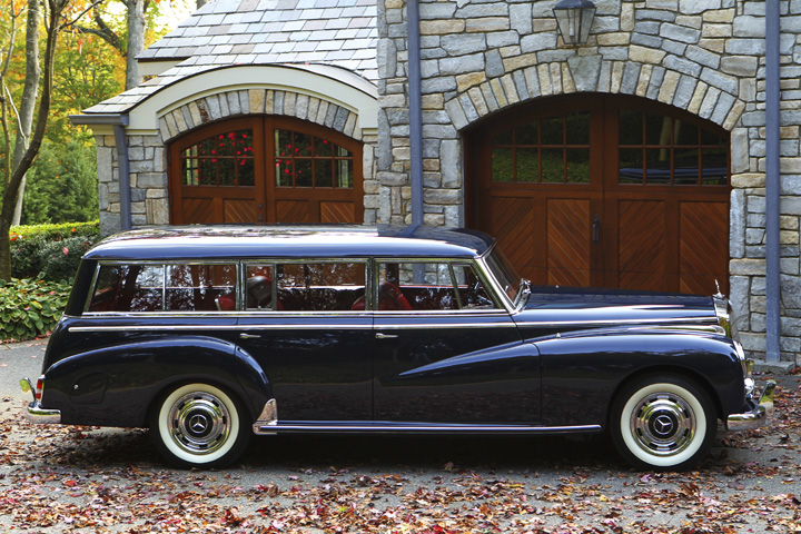 To the manor born 1957 binz built station wagon on 300c for Mercedes benz 300c