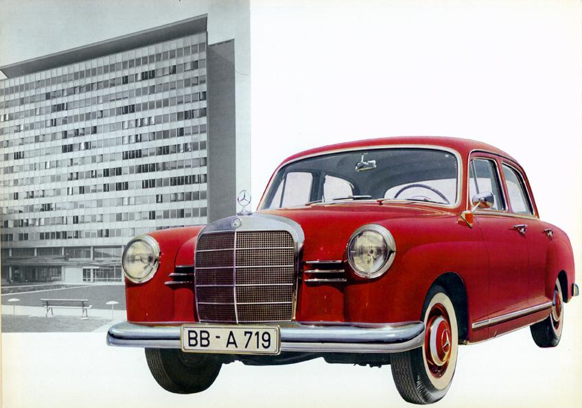 Buyers guide 1953 1962 ponton sedans mbca mercedes benz w121 190b 1959 1961 sciox Gallery