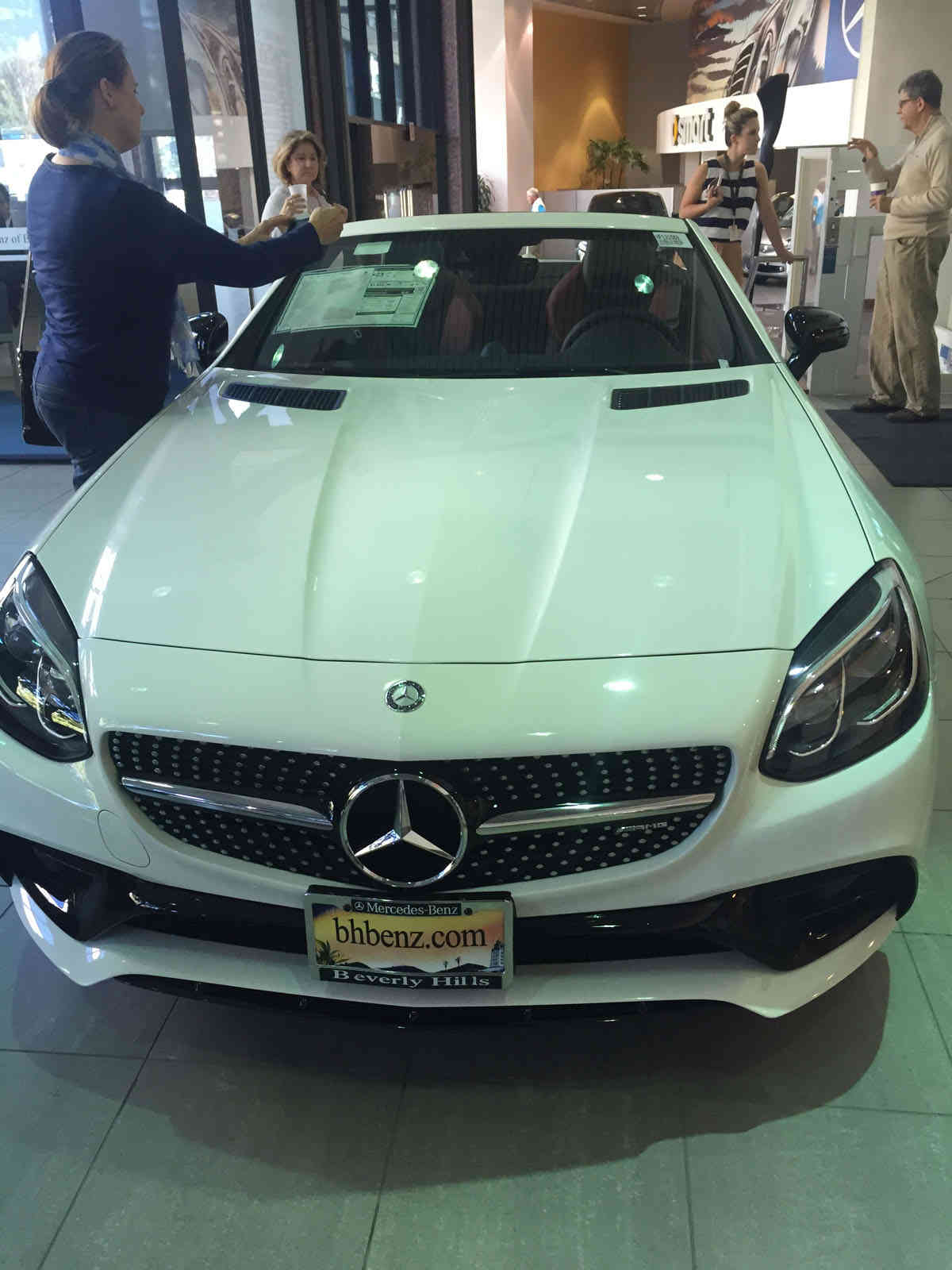 ... Beverly Hills Mercedes Clearly In The Lead! Special Thanks To Evonne  Ghoul, Public Relations Manager, Ron Robertson, Master Certified AMG  Expert, ...