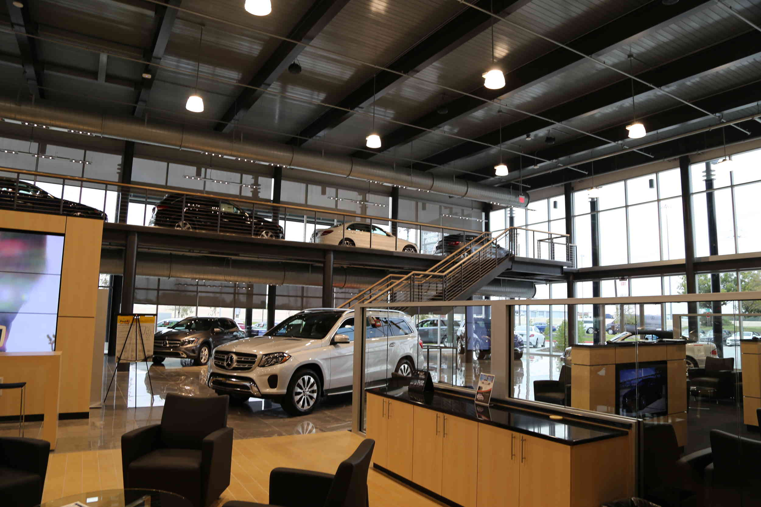 Open house at the new mercedes benz dealership in mckinney for Mercedes benz dealership dallas texas