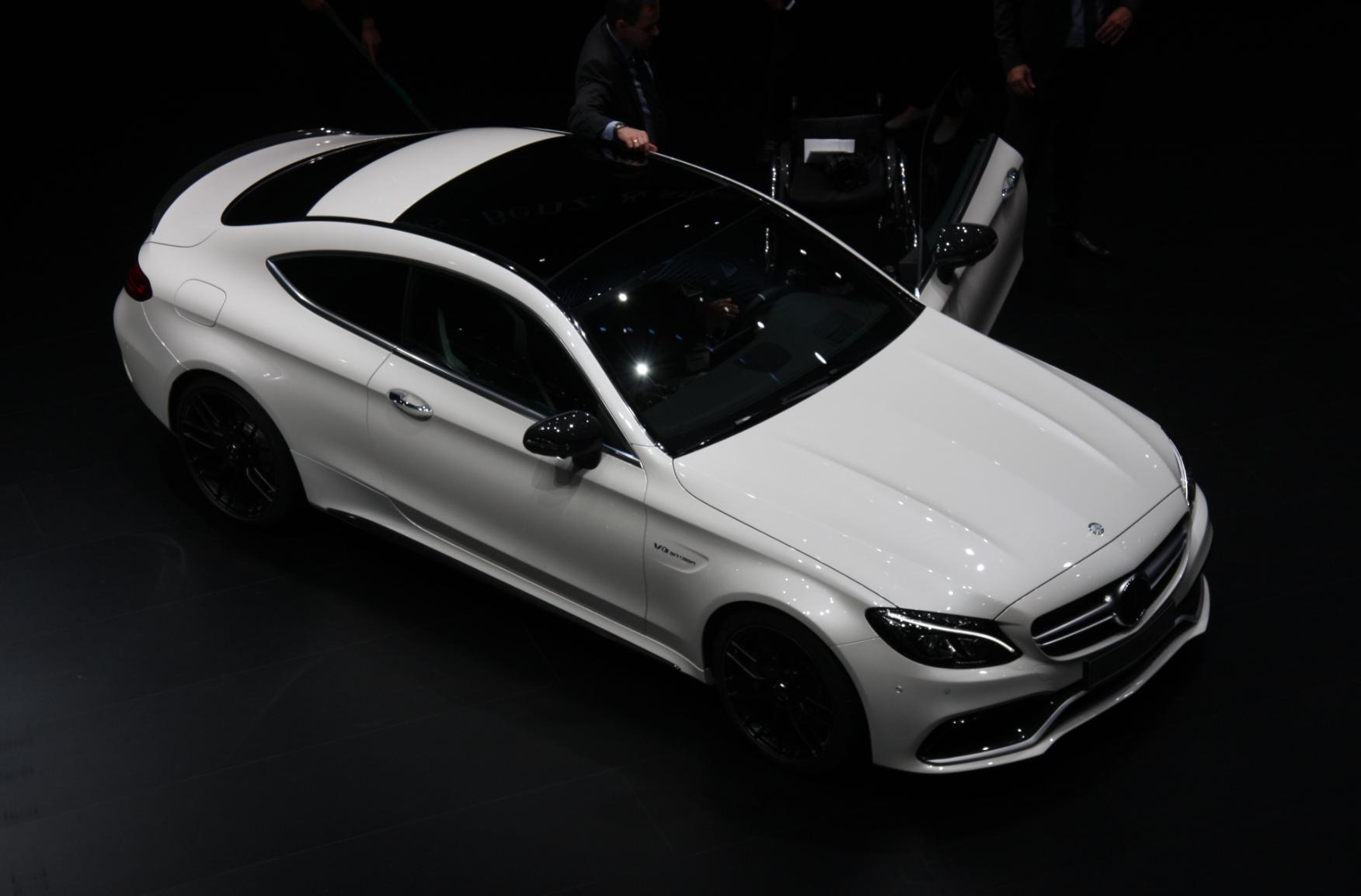2017 mercedes amg c63 coupe 2015 frankfurt auto show live for Mercedes benz raffle 2017