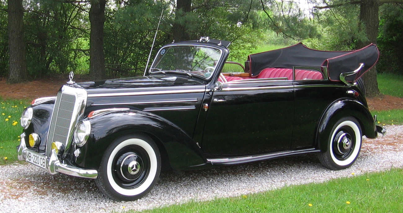 1952 220 cabriolet b mercedes benz club of america for 1952 mercedes benz