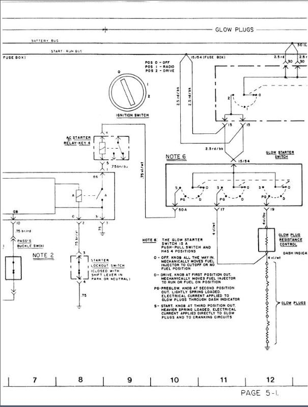 Mercedes Glow Plug Relay Wiring Diagram : Mercedes glow plug wiring diagram