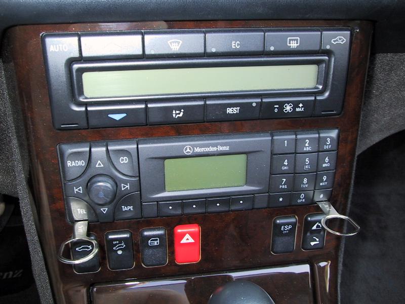 Mercedes benz 190e radio removal for Code for mercedes benz radio