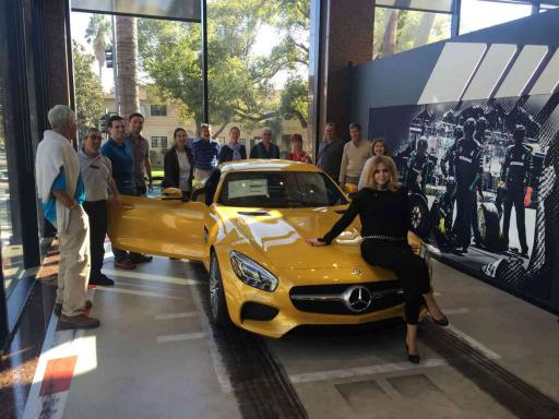 Beverly hills mercedes benz dealer event mbca for Mercedes benz dealers in los angeles