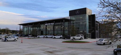 Open house at the new mercedes benz dealership in mckinney for Mercedes benz dealers in texas