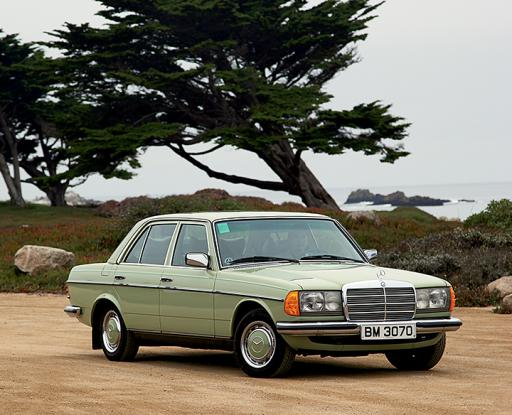 The Odyssey Of Homer S Car 1978 Caledonia Green W123 230 Mbca