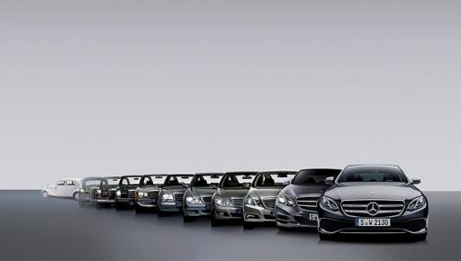 Evolution of the Mercedes-Benz E-Class – Chronology of ...