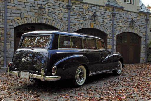 to the manor born 1957 binz built station wagon on 300c. Black Bedroom Furniture Sets. Home Design Ideas