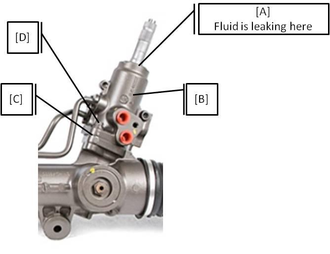 Ml320 cdi steering box leak mbca for Mercedes benz ml320 power steering fluid